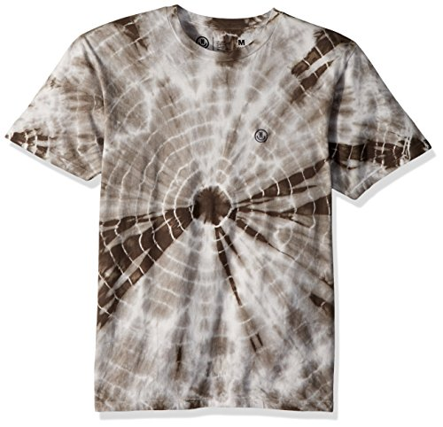 NEFF Men's Smiley Wash Short Sleeve Tee Shirt, Charcoal Grey, (Wholesale Designer T-shirts)