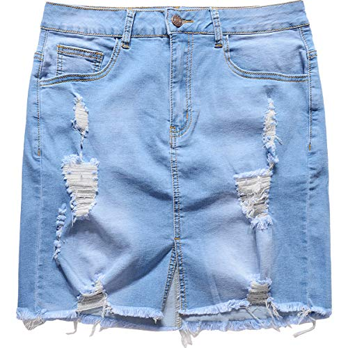 Buy xl denim skirt