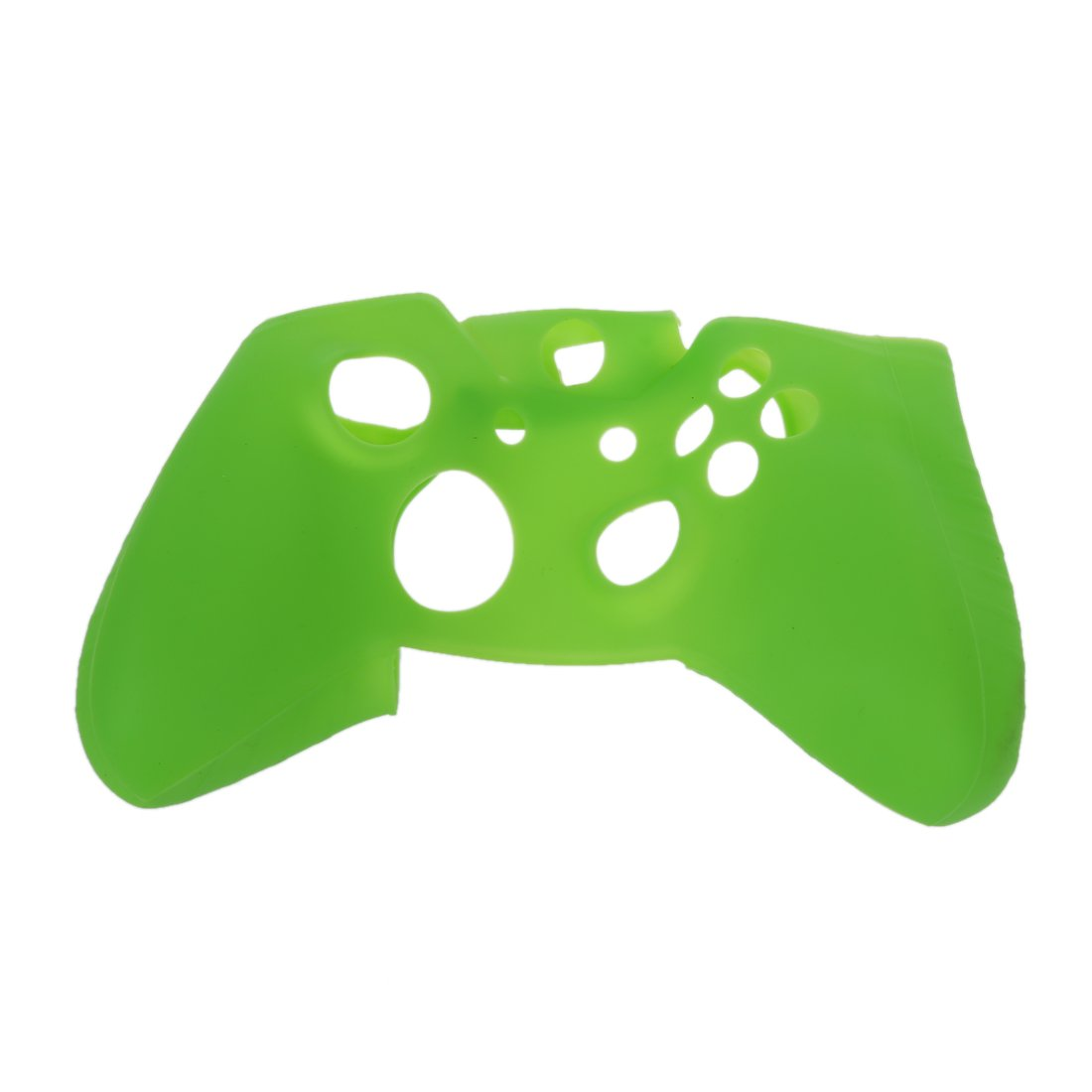 SODIAL(R) Soft Silicone Gel Protective Skin Cover Case for XBOX ONE Controller Green