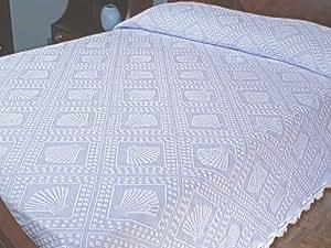 Cape Cod Bedspread - Full - Antique - Braided Edge