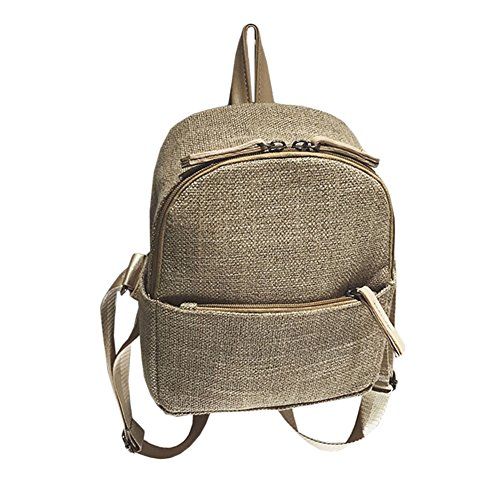 À College Femme Sac Cartable À Sacs Sac Backpack Au Femme Kaki Dos Porté Kaki Main Dos Dos YCwHvwq