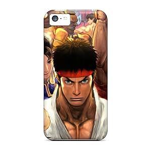 SherrilClaudette Kku29694bbJk Protective Cases For Iphone 5c(street Fighter Cast)