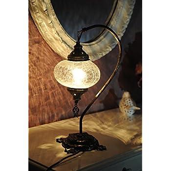 Table lamp swan neck arabian mosaic lamps moroccan lantern table lampswan neckarabian mosaic lamps moroccan lantern chandelierturkish aloadofball Images