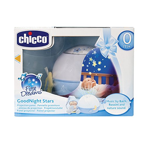 Chicco First Dreams Goodnight Stars, Proyector, Color Azul