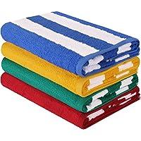 Utopia Towels Premium Quality Cabana Beach Towels - Pack...