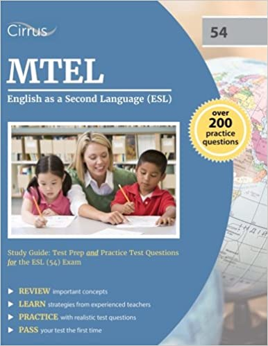 mtel english as a second language (esl) study guide: test prep and ...