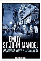 Dernière nuit à montréal (Rivages noir) (French Edition) Paperback