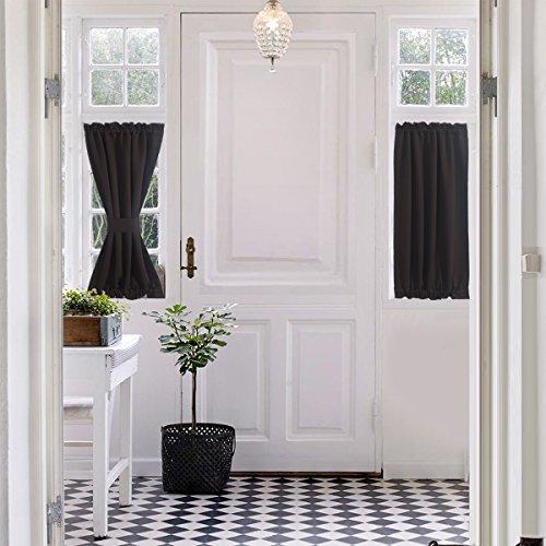 Door Window Curtains Amazon Com: Window Treatments For Small Windows: Amazon.com