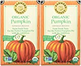 Farmers Market Organic Pumpkin Puree-15 Oz-2 Pack