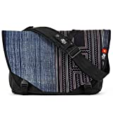 Acaat Messenger Bag from Ethnotek with hand-woven outside panel created using traditional techniques (Vietnam 5)