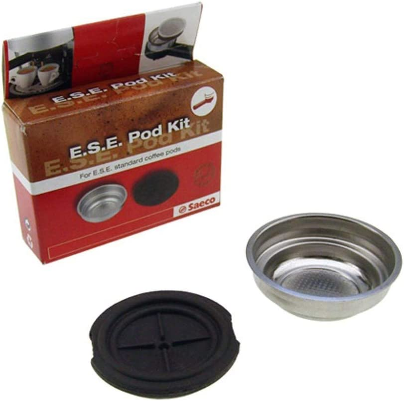 Kit de filtro adaptador para cafetera Saeco Pod Poemia Via Veneto Magic: Amazon.es: Hogar