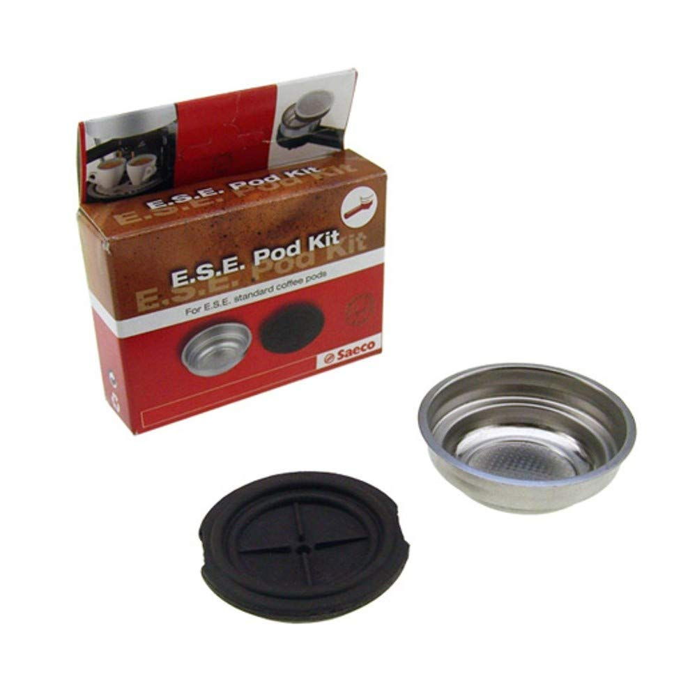 Kit de filtro adaptador para cafetera Saeco Pod Poemia Via Veneto ...