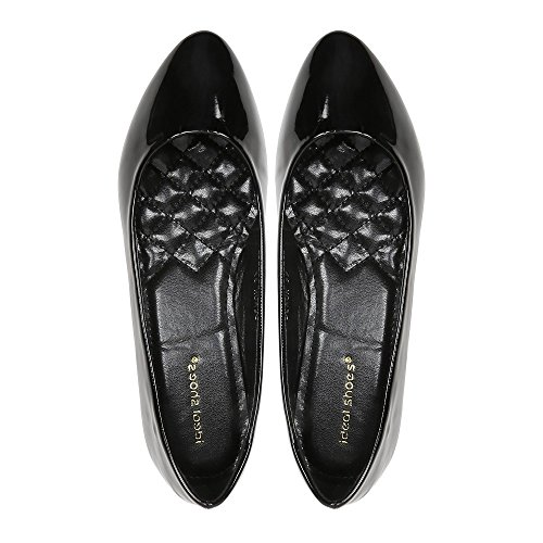 Vernies Classiques Ballerines Ideal Shoes Patsy EqBnSt