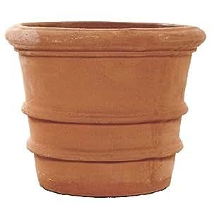 20 cm Terracino taco macetero redondo/olla recipiente/
