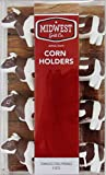 Midwest Grill Co. Animal Shaped Corn Holders - 4 sets (Brown and White Cows)