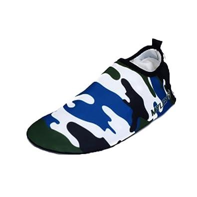 Moolecole Mode Extérieur Fitness Yoga Chaussures de Course Unisexe Barefoot  Eau Sports Aqua Chaussures pour Beach