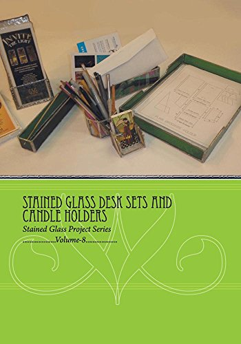 Stained Glass Desk Sets and Candle Holders