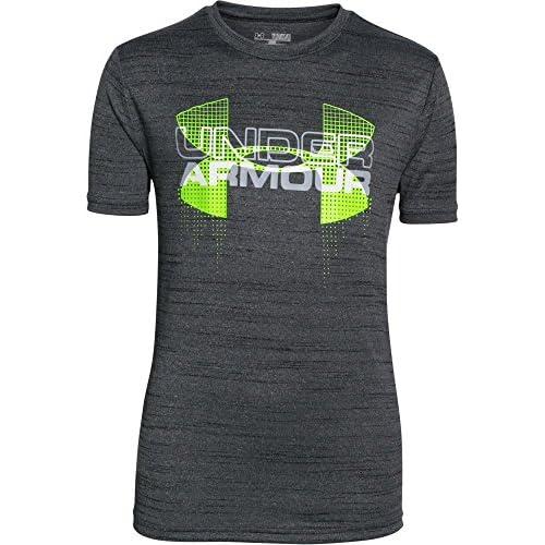 Under Armour jeunes T-shirt de fitness et réservoir Big Logo Hybrid courtes pour