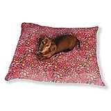 Paper Flower Patchwork Dog Pillow Luxury Dog Cat Pet Bed