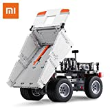 OLS Mitu Block Mine Truck Building Robot Steering Wheel Control System Safety Portable Builder Smart Toys For Kids