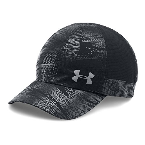 Under Armour Women's Fly By ArmourVent Cap, Black/Black, One - Womens Cap Running