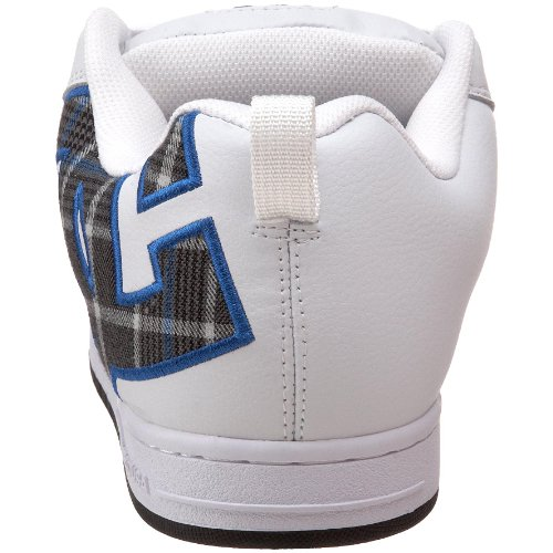 Court Graffik SE Plaid DC Royal White Sneaker Men's RgZWqwx5