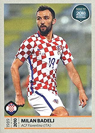 d0a23de30f6 2017 Panini Road to 2018 FIFA World Cup Russia  23 Milan Badelj Croatia  Soccer Sticker