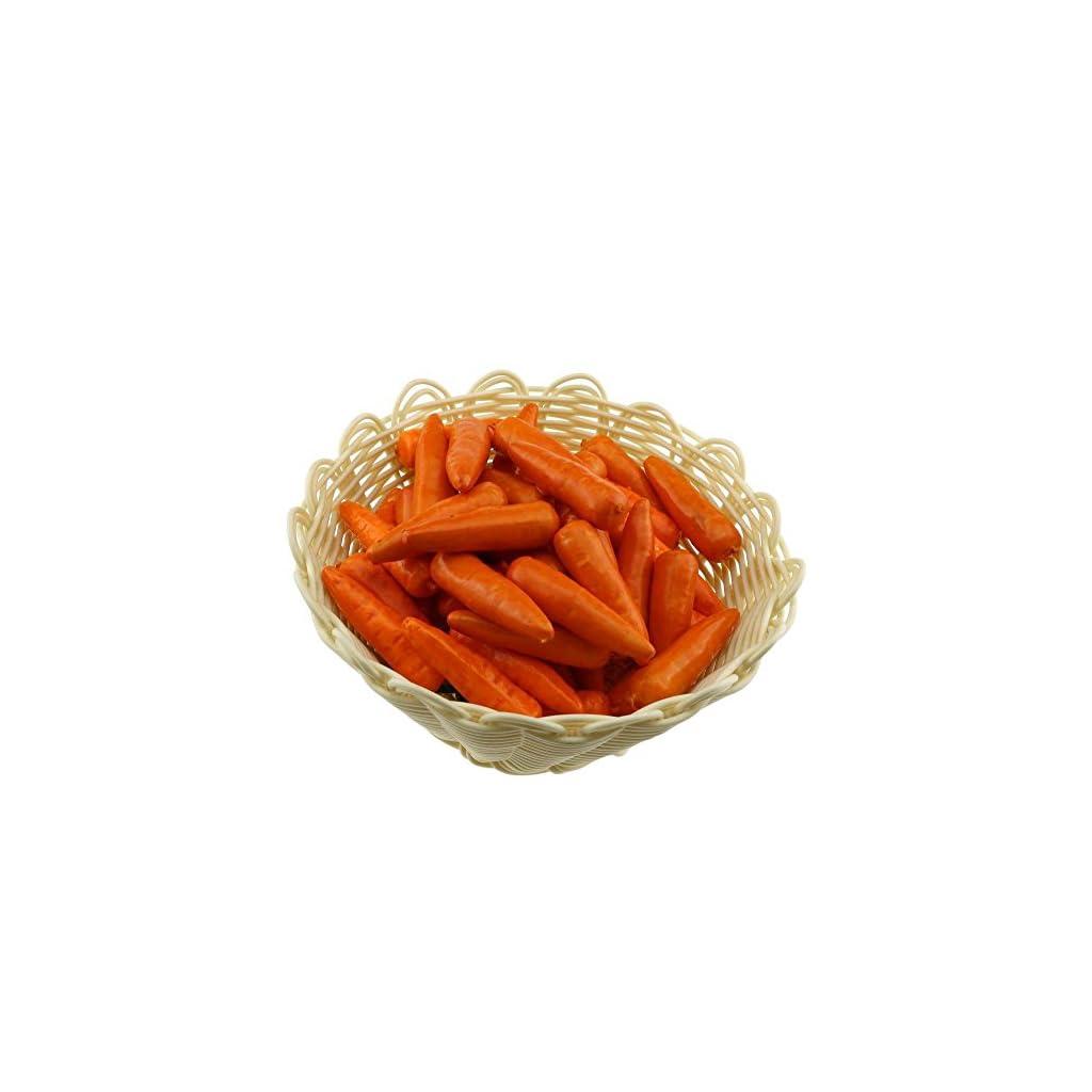 Gresorth-30-PCS-Mini-Size-Artificial-Carrot-Fake-Vegetable-Home-Kitchen-Decoration