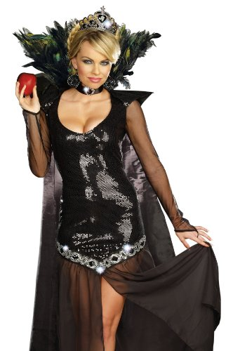 Wicked Costumes Musical (The Queen of Mean Adult Costume - Medium)