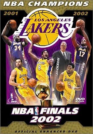 ff5028cae4ea Amazon.com  2002 NBA Finals Los Angeles Lakers Championship Video  Los  Angeles Lakers