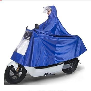 GLJY Poncho de Motocicleta eléctrica para una Sola Persona ...