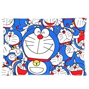 Custom Doraemon Anime Cat Pillowcase Pillow Covers Cases Standard Size 20x30 Inch (Twin Sides)Home Decoration
