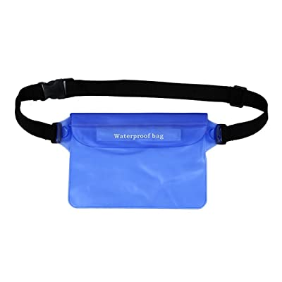 TOOGOO(R) Sac a bandouliere impermeable entierement a l'eau de la piscine exterieure de necessites (Bleu)