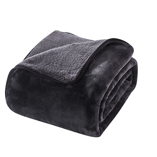 HYSEAS Heavy Thick Blanket, Extra Soft Plush Bed Blanket, Ki