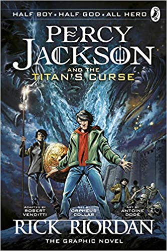 Buy Percy Jackson And The Titan S Curse The Graphic Novel Book 3