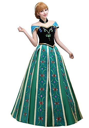 Angelaicos Women's Hand Sewing Floral Party Long Dress Cosplay Costume (XL) for $<!--$179.99-->
