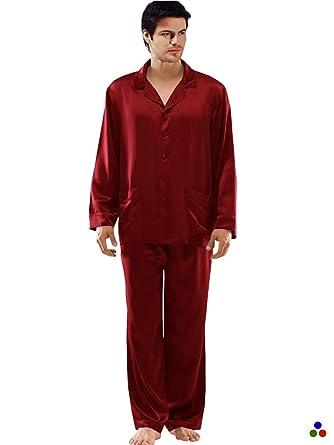 e4f3ba0a45e2 ElleSilk Men s Silk Nightwear