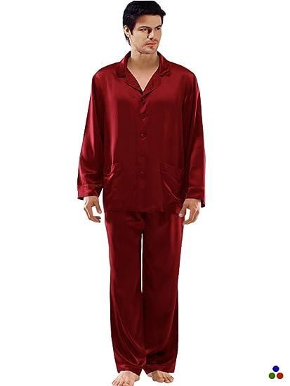 4fd6492299 ElleSilk Men s Silk Nightwear