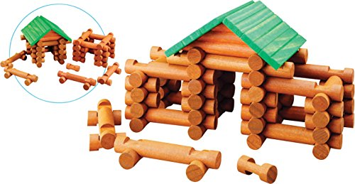 Maxim Tumble Tree Timbers, 77 Piece (Wood Log Cabin Tree House)