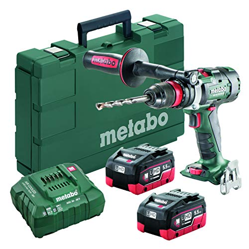 Metabo BS 18 LTX-3 BL Q I 2x 55Ah LiHD kit 18V Brushless 3-S