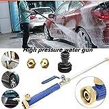 FidgetFidget Washer Spray Nozzle Adjustable High Pressure Power Water Car Garden Hose Wand