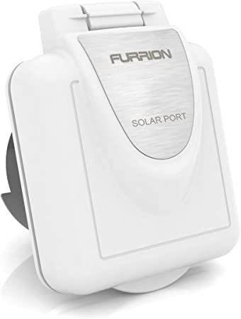 Furrion FSPINS-PS White RV Solar Port Inlet