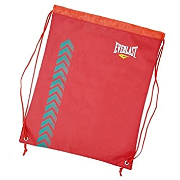 f5f062b67f Everlast Gym bag Essential School Bag Sports Bag Shoe Bag Drawstring Bag Red   Amazon.co.uk  Sports   Outdoors