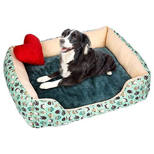(YJYdada Soft Pet Dog Cat Bed Puppy Cushion House Pet Soft Warm Kennel Dog Mat Blanket (M,)
