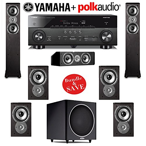 Polk Audio TSi 300 7.1 Home Theater Speaker System with Yama