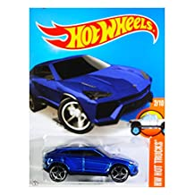 Hot Wheels 2016 HW Hot Trucks, Lamborghini Urus Vehicle 142/250, Long Card by Mattel