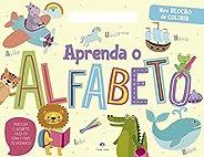 Aprenda o alfabeto: Pratique o Alfabeto, Ouça os Sons e Pinte os Desenhos!