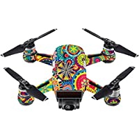 Skin For DJI Spark Mini Drone – Flowers | MightySkins Protective, Durable, and Unique Vinyl Decal wrap cover | Easy To Apply, Remove, and Change Styles | Made in the USA
