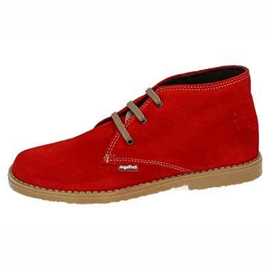 ANGELITOS Boys' Boots red Size: 9 Child UK