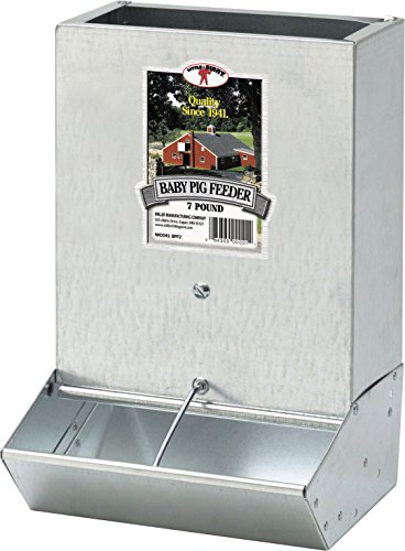(Miller CO 2 Hole Baby Pig Feeder)